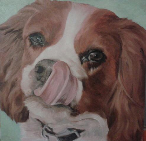 #tbt Let's go back….to Milo and my first attempt at oils